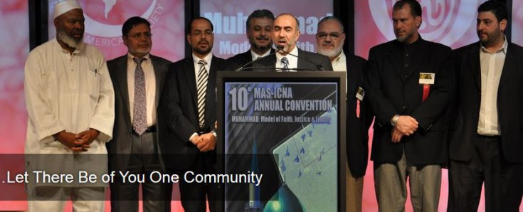 Nihad Awad, 3rd from left