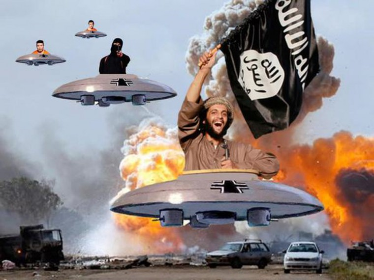 """""""I'm ISIS, fly me"""""""