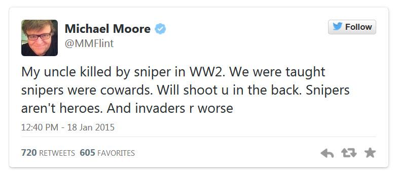 Michael-Moore-Chris-Kyle-Coward-Tweet