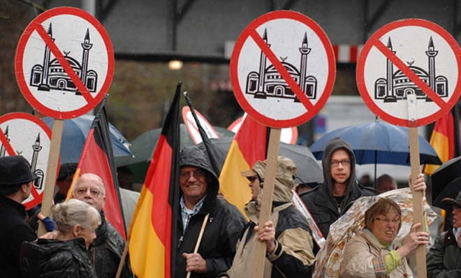 Image result for Angela Merkel loves islam hates the west