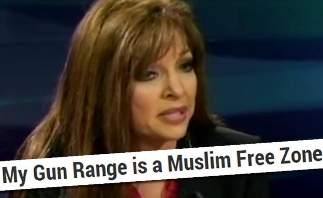 Jan Morgan's Arkansas 'MUSLIM-FREE' gun range business is booming and even the Justice Department is ignoring CAIR's demands for investigation