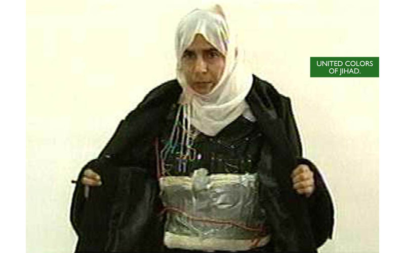 Special Muslim Women's Suicide Bomber Chic
