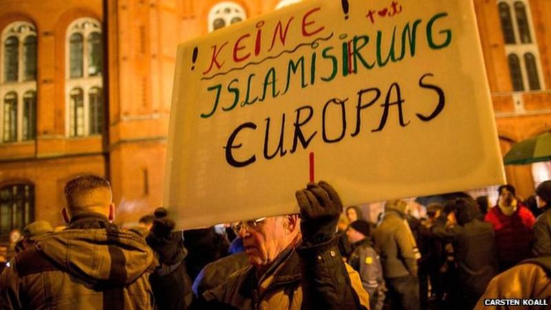 """NO Islamization of Europe"""