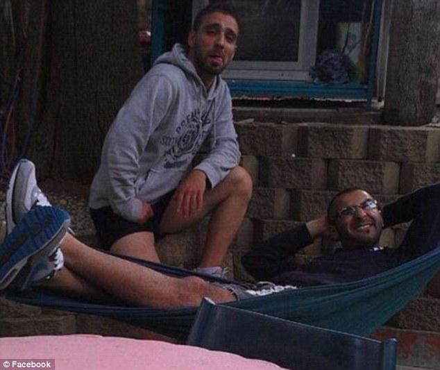 Mohammad Kiad, 25 (right), and hisIraqi born housemate Omar Al-Kutobi, 24 (left)