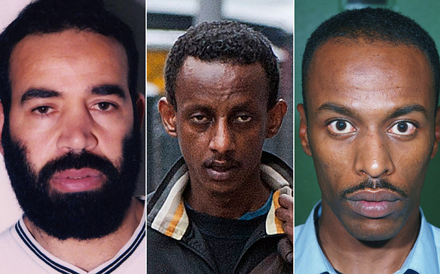 Baghdad Meziane, Siraj Yassin Abdullah Ali and Ismail Abdurahman have all been convicted of terrorism-related offenses
