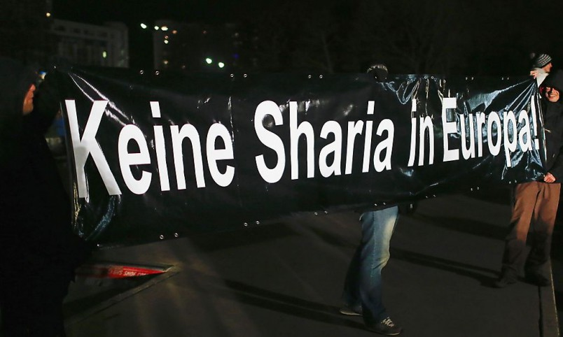 NO SHARIA in Europe