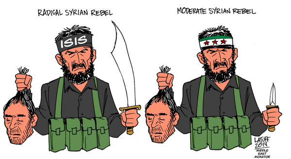 "Obama is training and funding so-called ""moderate"" Syran rebels"