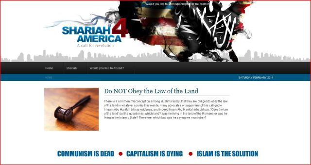The Muslim push for sharia law in America has the goal of making sharia the law of the land for everyone