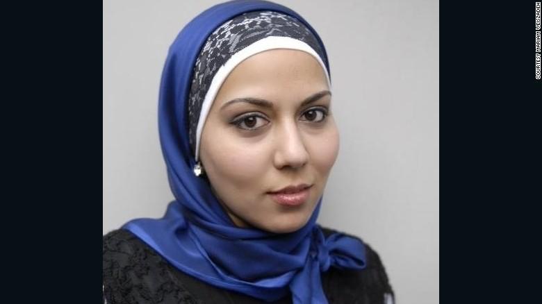 Mariam Veiszadeh, Muslim invader from Afghanistan