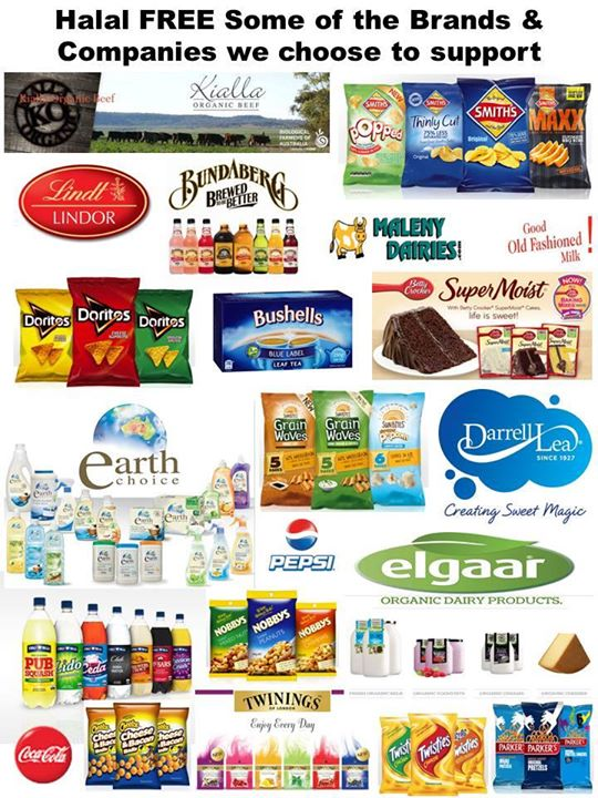 Halal Certified Food List Australia