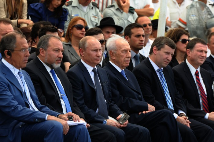 The Russian delegation met with their Israeli counterparts in Netanya, Israel to honor the Jewish soldiers who served in the Red Army during World War II