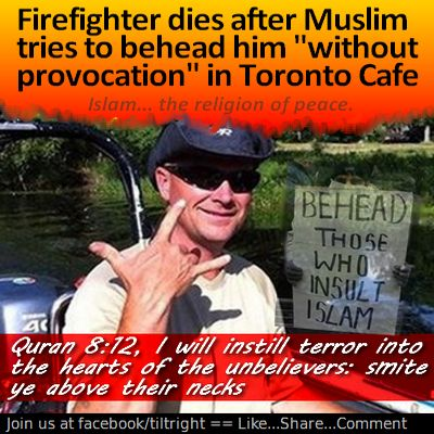 A Muslim firefighter - what could go wrong?