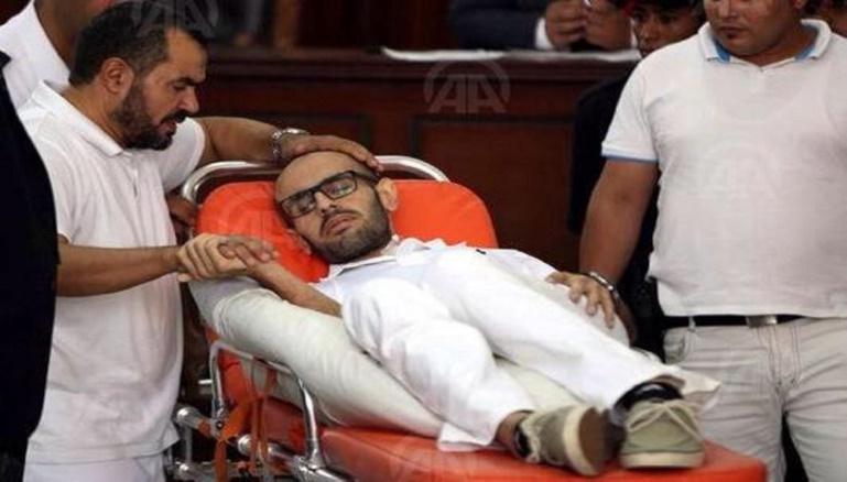 Mohamed Soltan still not dead after a 14-month hunger strike with his father, convicted convict .Salah Soltan