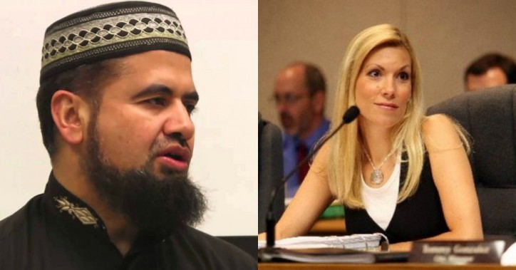 IslamoNazi Sheikh Zia vs the Mayor