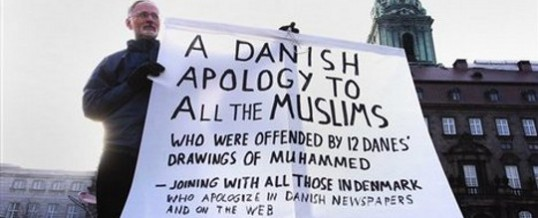 The politically correct response to Muslim violence over Mohammed cartoons