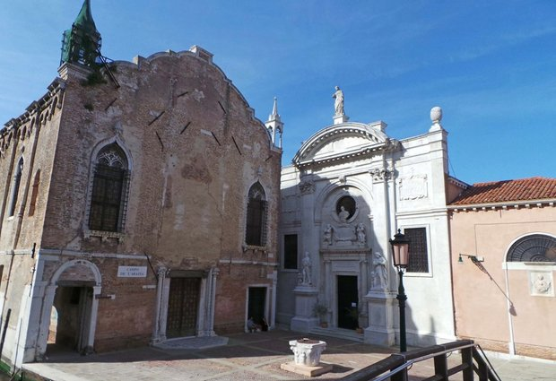 The former Misericordia Abbey in Venice,