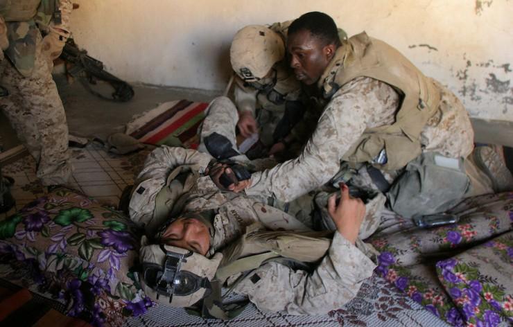 Marines in Fallujah