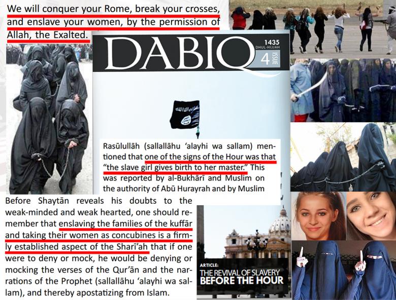 ISIS JUSTIFIES SLAVERY EXAMINER ARTICLE