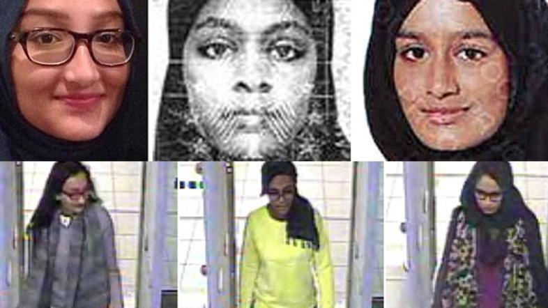 3 british teens turned ISIS brides