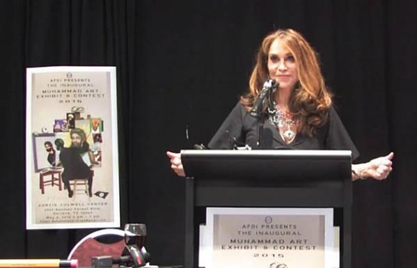 Pamela Geller, organizer of Daw the prophet Muhammad' cartoon contest held in Texas