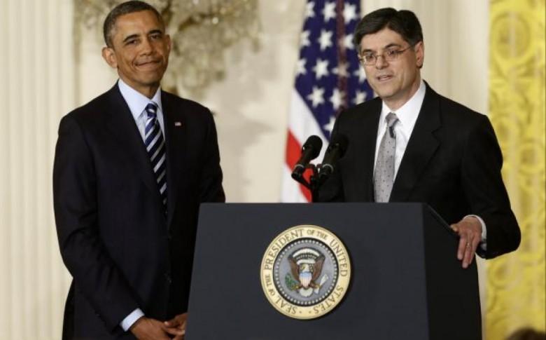 Barack Hussein Obama and buddy Jack Lew