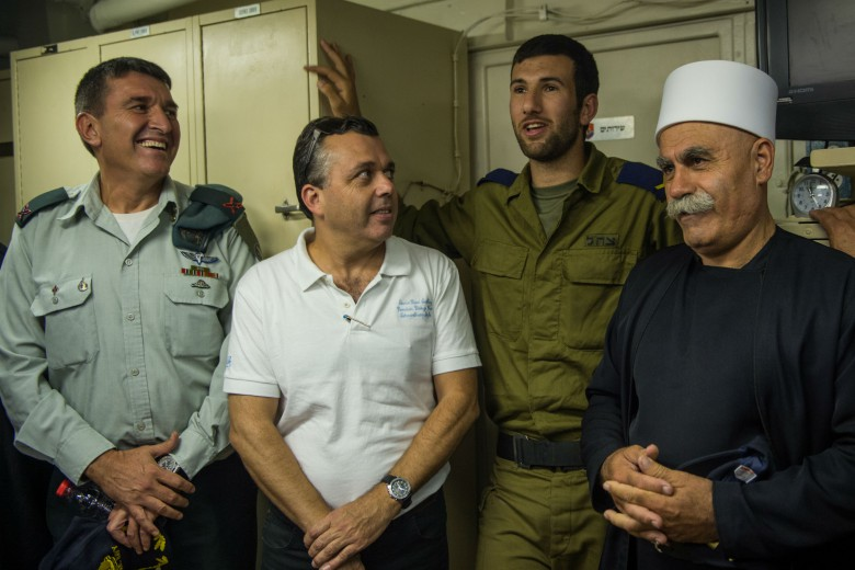 Today, 85% of Israel's male Druze population chooses to join the Israeli military. About 130 Druze sailors currently serve in the Navy, and many of them plan to continue their service far beyond their scheduled release dates.