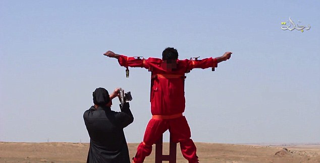ISIS-crucifixion