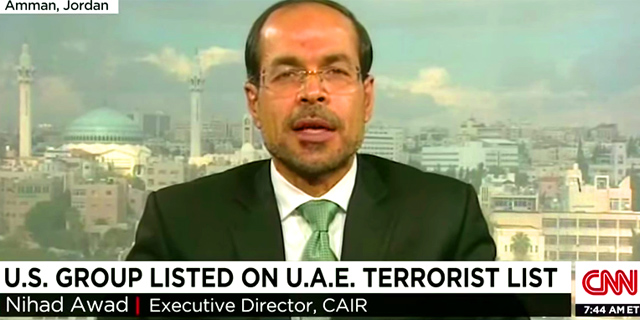 CAIR is designated at terrorist group by the UAE and other Arab countries because of its Muslim Brotherhood ties
