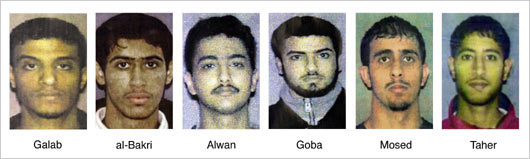 LACKAWANNA SIX MUSLIM TERRORISTS