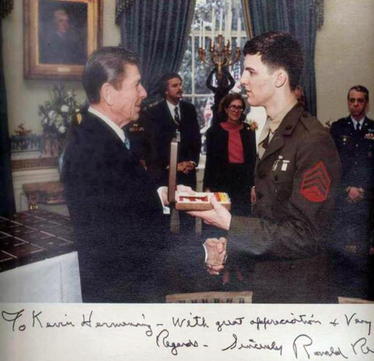 Ronald Reagan, Kevin Hermening