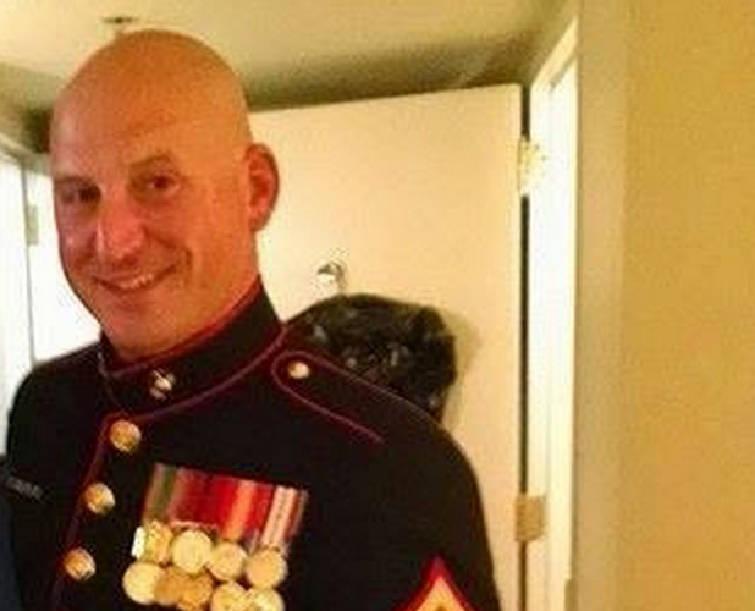 MURDERED USMC STAFF SGT. DAVID WYATT, 37