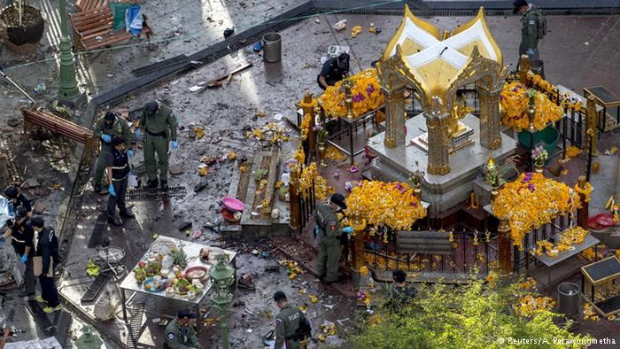 Popular foreign tourist attraction Hindu shrine which was the target of the attack