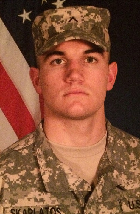 Alek Skarlatos of Oregon National Guard
