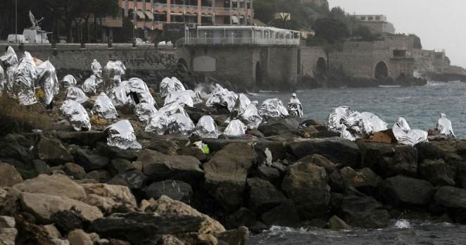 Migrants-in-France
