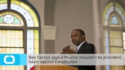 1027581054-Ben-Carson-Says-Muslim-Shouldn-Be