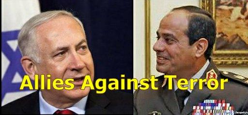 Netanyahu and Egyptian president