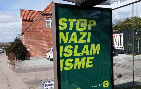 Controversial Advertising campaign from the Danish People's Party