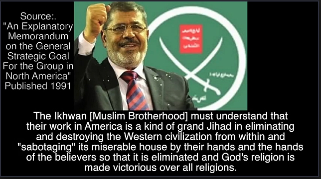 MOHAMED MORSI, now the deposed Muslim Brotherhood leader of Egypt
