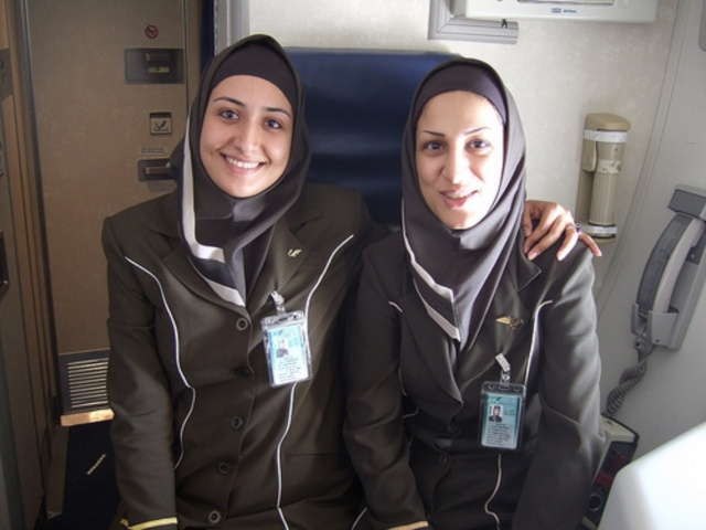 New look for American Airlines flight attendants