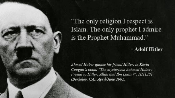 Hitler admires Islam