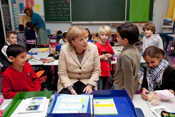 """Merkel's new indentured servants for her beloved Muslim """"refugees"""""""