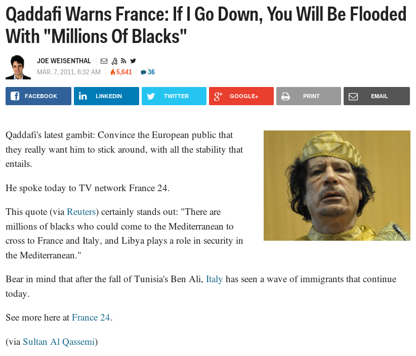 Qaddafi-Warns-France-If-I-Go-Down-You-Will-Be-Flooded-With-Millions-Of-Blacks-Business-Insider