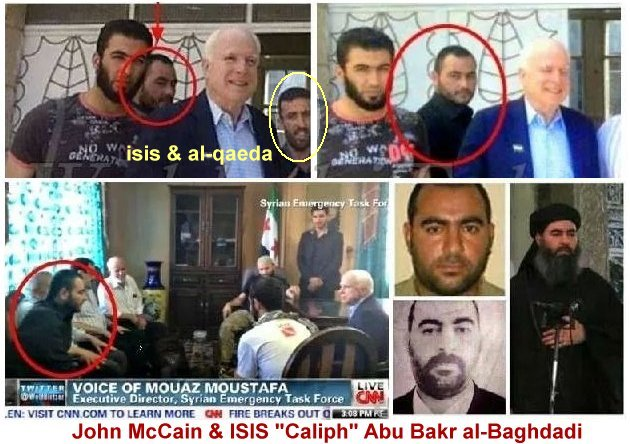 If anyone is behind ISIS, it is Barack Obama and John McCain