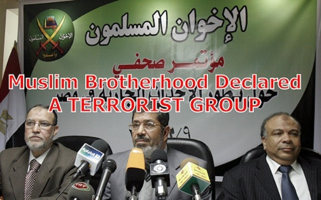 Egypt, Russia, the United Arab Emirates, Saudi Arabia, Bahrain and Syria have banned the Muslim Brotherhood for its ties to terrorism