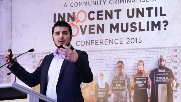 Wassim Doureihi from radical Islamofacist group Hizb-ut Tahrir