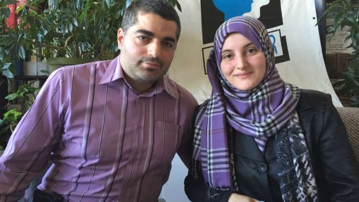 Asma Al-Shawarghi, pictured with her husband Bilal Hamideh, wants Costco to teach its employees not to offend Muslims