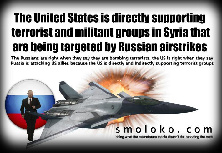 RussiaSyriaAirstrikesUSterrorismISILmeme