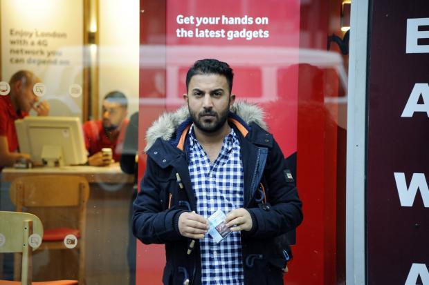 Fahad Balil, the husband