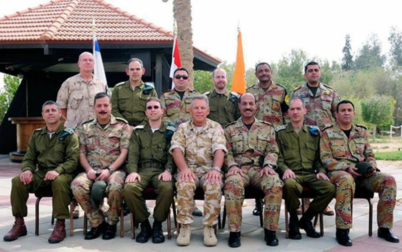 Egyptian Army delegation spent a week in Israel, met Israeli officials, and toured a number of areas.