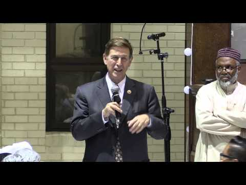 Don Beyer at Dar al-Hijrah terrorist mosque